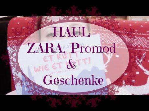 #Haul - #Zara, Promod & Geschenkääää