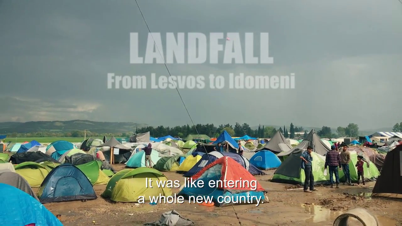 Landfall- From Lesvos to Idomeni: Ντοκιμαντέρ για τη βοήθεια των Ελλήνων προς τους πρόσφυγες