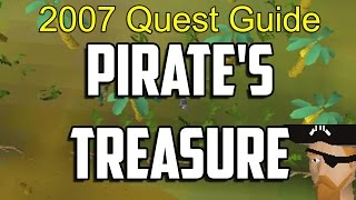 Runescape 2007 Pirate's Treasure Quest Guide