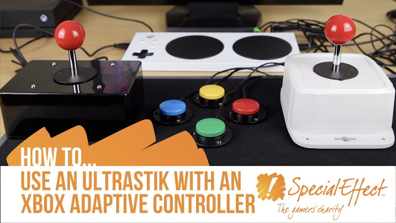 video placeholder for How to use an UltraStick with an Xbox Adaptive Controller