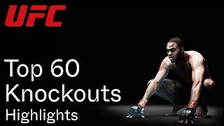 Top 60 UFC Knockouts Of All Time