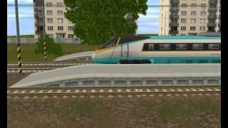 preview picture of video 'TRS 2004 Pendolino'