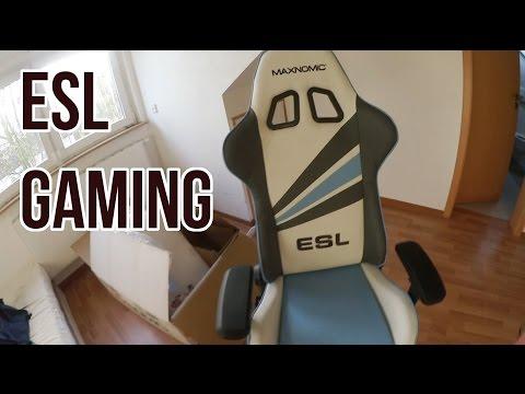 MAXNOMIC ESL Büro und Gamingstuhl - Review und Erfahrungen [HD+]