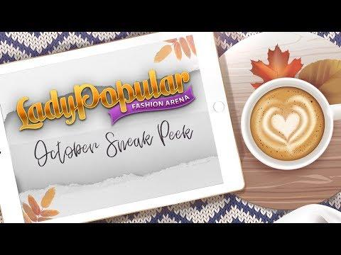 October Sneak Peek in Lady Popular