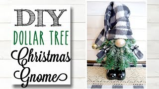 DIY Dollar Tree Christmas Gnome | 4 Of 12 Days Of Christmas