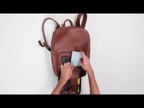 VENTURE 2: Leather Tech Backpack For Adventure-GadgetAny