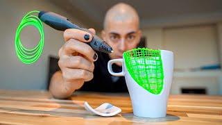 TEST LÁPIZ 3D || Reparando Objetos con el Invento del Futuro!