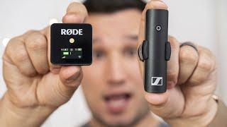Rode Wireless GO vs Sennheiser XSW-D - Best TINY Wireless Mic?