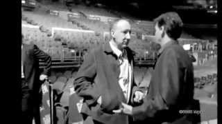 Pete Townshend & Paul McCartney in NYC in October 2001