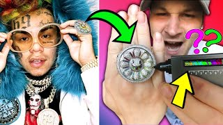YOU WONT BELIVE What 6ix9ines New Jewelry Did To My Diamond Tester..