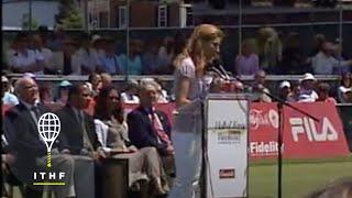Monica Seles, International Tennis Hall of Fame Induction, 2009
