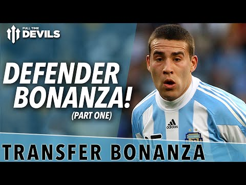 Defender Bonanza! | Transfer Bonanza Part 1 | Manchester United