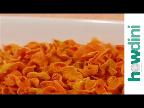 Video Easy Snack Recipe: Carrot Chips