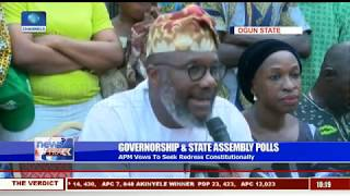 Ogun Governorship Election APM's Akinlade Rejects Results