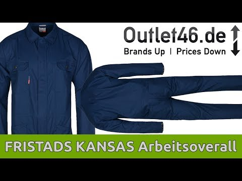 FRISTADS KANSAS - Arbeitsoverall I Review l On Body l Haul l Outlet46.de