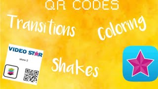 Videostar Coloring Qr Codes