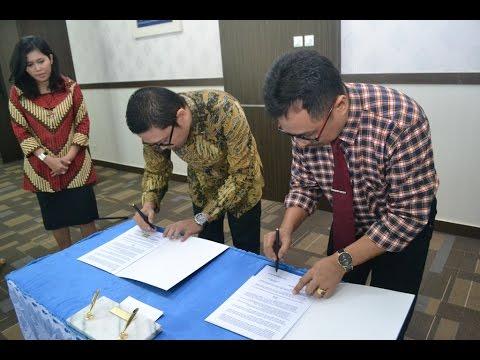 Dok Humas Untad, Penandatanganan MoU antara PT. Penjaminan Infrastruktur Indonesia Dengan Universitas Tadulako Palu 15 Februari 2016