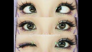 SHOWCASE: Circle Lenses - Sweety K Magical Glitter Grey (Sponsored By Uniqso)
