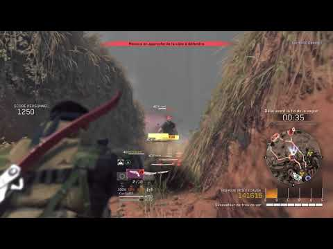 Metal Gear Survive Rang S Niveau Hard sur la Mine Déserte