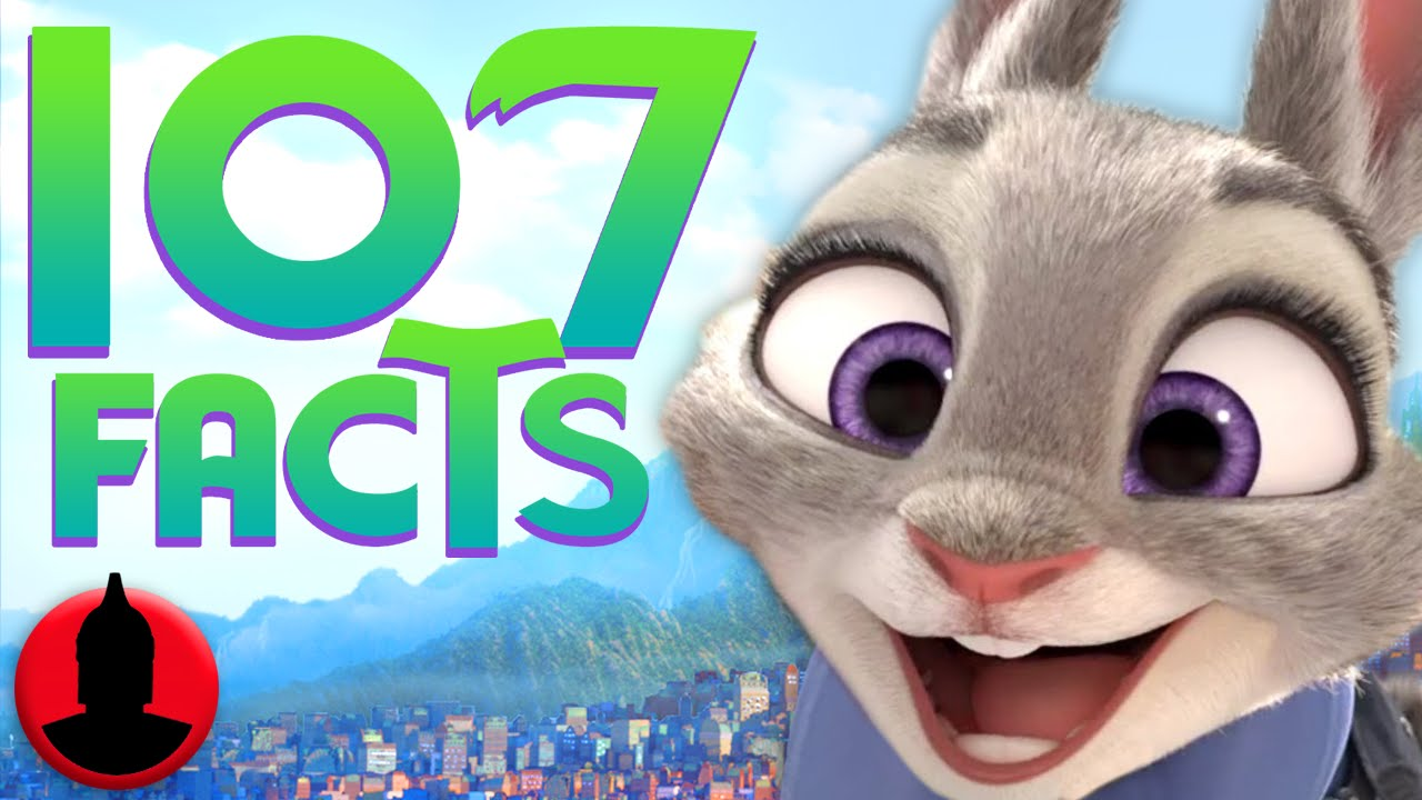 Channel Frederator's 107 Zootopia Facts YOU Should Know