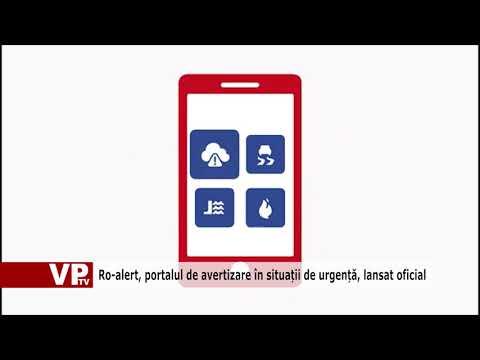Ro-alert, portalul de avertizare în situații de urgență, lansat oficial