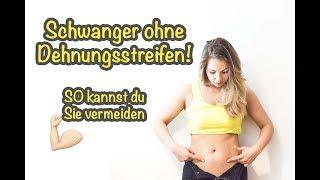 DEHNUNGSSTREIFEN vermeiden!   Schwangerschaftsstreifen & CELLULITE vorbeugen