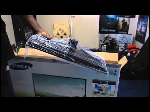 Samsung 39UE5003 HDTV Unboxing (Black Friday)