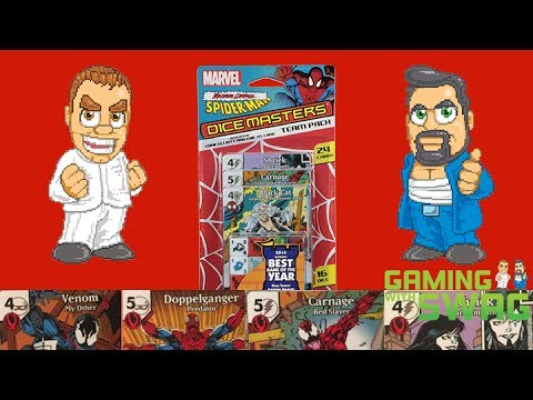 Spider-Man Maximum Carnage Dice Masters Team Pack Unboxing and Review