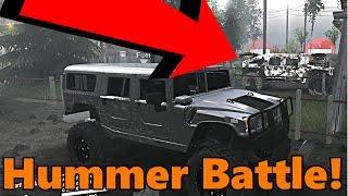 Spin Tires   Street Hummer vs Sport Hummer!
