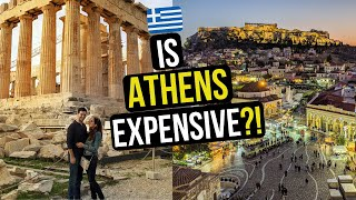Is ATHENS EXPENSIVE? HOW MUCH Does IT COST To SEE ATHENS GREECE In 2 DAYS?