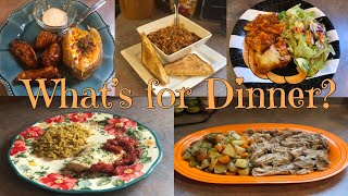 What's for Dinner?  Family Meal Ideas  October 29th- November 4th, 2018