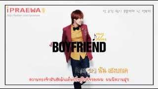 [Karaoke-Thaisub] BOYFRIEND (Jeongmin Solo) - My Dear by ipraewaBFTH