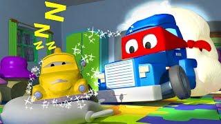 Трансформер Карл и Песочный грузовик в Автомобильном Городе   Мультик про машинки и грузовички