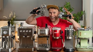 Kleine Espressomaschinen im Test | Welcher ist der beste kleine Siebträger?