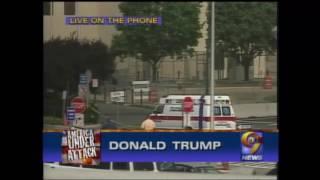 Donald Trump Calls Into WWOR/UPN 9 News on September 11, 2001