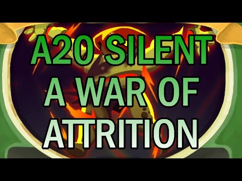 Almost 2 hours... WITHOUT FROZEN EYE! | Ascension 20 Silent Run | Slay the Spire