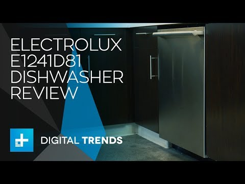 Electrolux E1241D81S Dishwasher Review