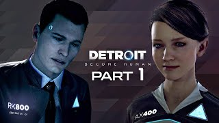 Detroit Become Human Walkthrough Part 1 - THE CYBERLIFE | PS4 Pro Gameplay