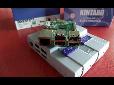 Super Nintendo Case for Raspberry Pi - SNES RetroPie