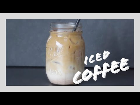 Video Iced Coffee | Healthy & Easy