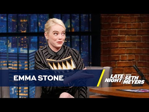 Emma Stone Gave Her Oscar to Her Mom but Displays Her Spelling Bee Champ Trophy