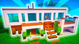 Download video minecraft casa moderna doble con garajes for Casa moderna omarzcraft