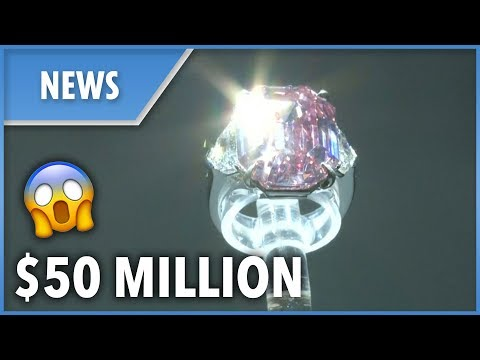 Pink diamond ring sold for $50 MILLION