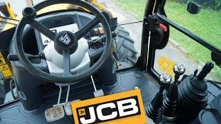 Управление экскаватором JCB 3