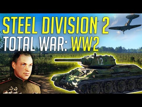 Total War Meets WW2! - Steel Division 2 Campaign Review