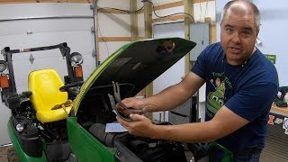 Issues With John Deere Compact Tractor! Air Cleaner Bracket Update and Repair