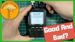 Yaesu FT2DR/DE review, a misunderstood ham radio