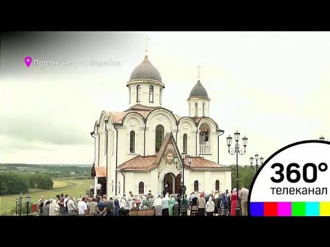 Новый храм в лен обл