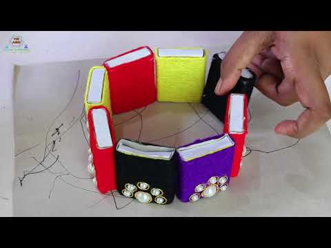 Amazing Matchbox Crafts Ideas How To Make Beautiful Wall Showpiece
