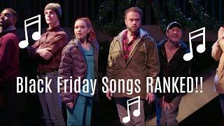 Black Friday Songs RANKED!